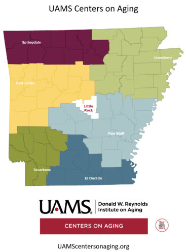 UAMS centers on aging map